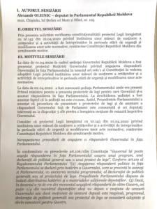 Curtea Constituțională trebuie să verifice constituționalitatea asumării răspunderii de către Guvern
